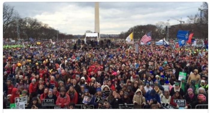 Big crowds at pro-life march
