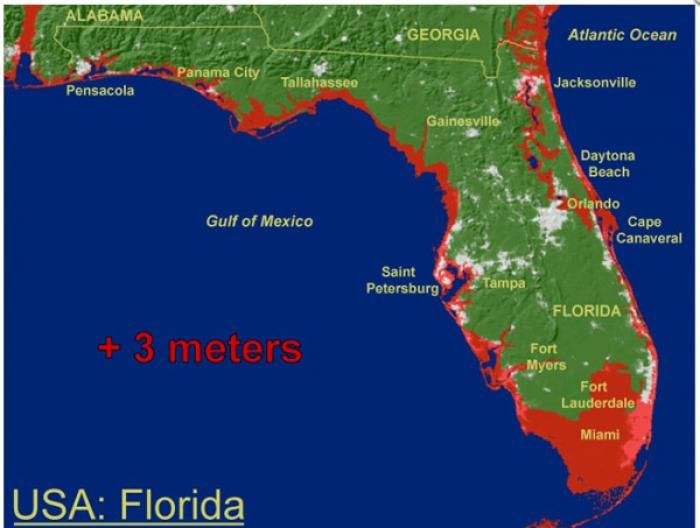 The Frightening Reality Of Sea Level Rise For United States Us Navy Sea Level Rise