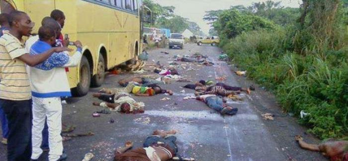 slaughtered Christians in Nigeria