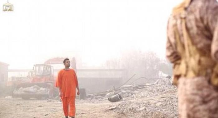 Jordanian pilot in ISIS execution video