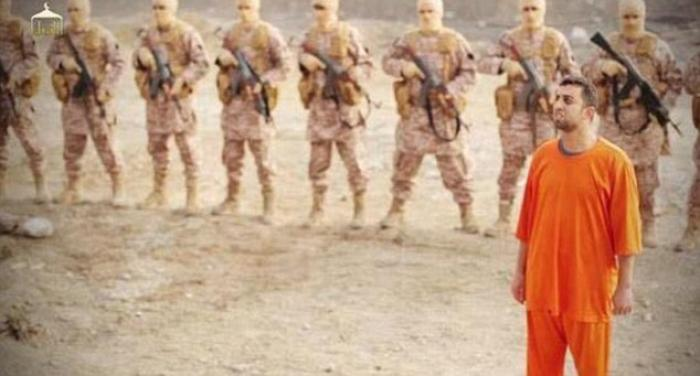 WARNING: EXTREMELY GRAPHIC VIDEO) ISIS' video of Jordanian pilot's