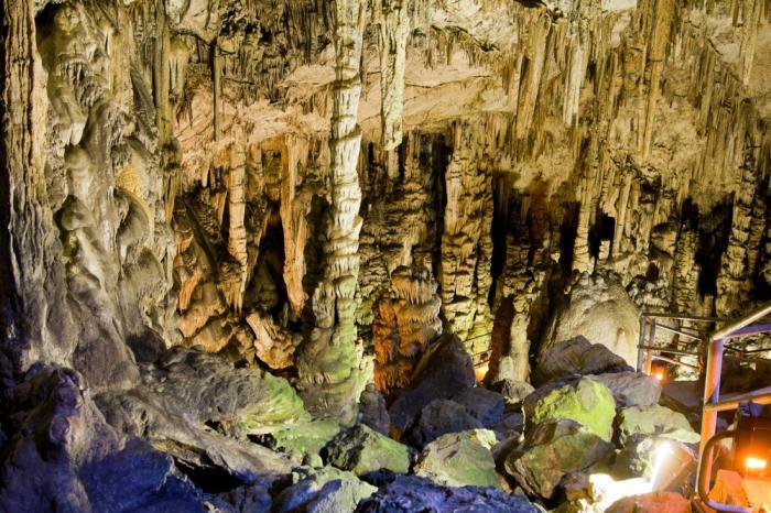 Bronze-Age Minoan Caves, Crete, Greece