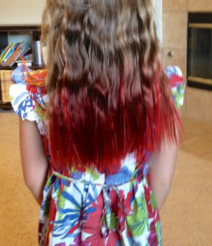 Blue Kool Aid Hair Light Brown Www Imgkid Com The