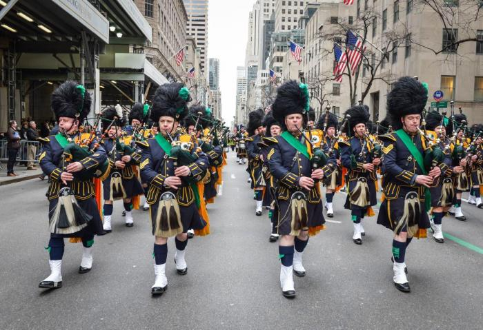 Pipers at NYC St. Patrick