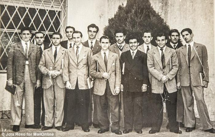 Pope Francis and Oscar Crespo in High School