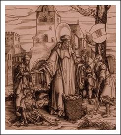Image of St. Adalard of Corbie