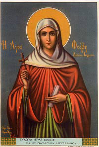 Image of St. Phoebe