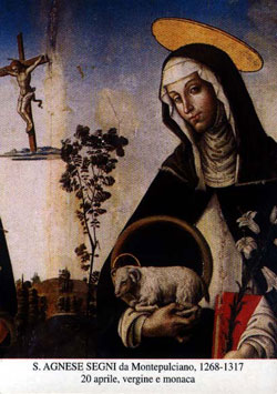 Image of St. Agnes of Montepulciano