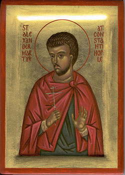 Image of St. Alexander of Constantinople