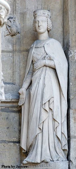 St. Isabel of France: Saint of the Day for Sunday, February 26, 2017