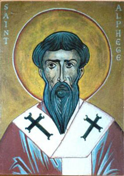 St. Alphege: Saint of the Day for Friday, April 19, 2019