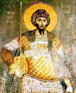 Image of St. Theodore of Pavia