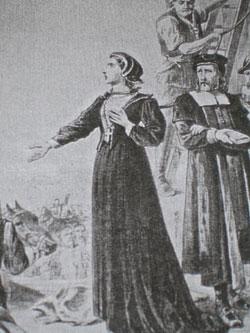 sveta Ana Line - vdova in mučenka