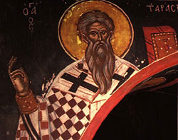 St. Tarasius: Saint of the Day for Saturday, February 25, 2017