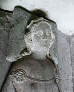 Image of St. Aurelia of Strasbourg