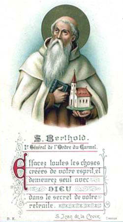 St. Berthold: Saint of the Day for Wednesday, March 29, 2017