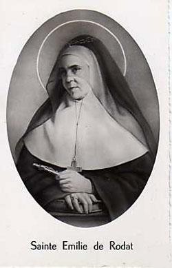 St Emily De Rodat Saints Amp Angels Catholic Online