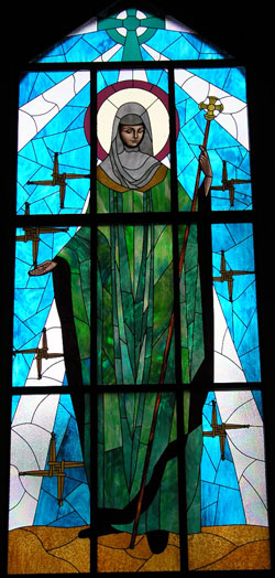 Image of St. Brigid of Ireland