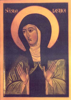 St. Scholastica: Saint of the Day for Wednesday, February 10, 2016