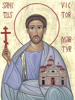 Image of St. Victor Maurus