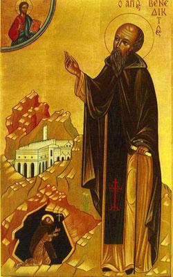 Angels and Saints St. Benedict