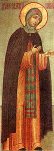 Image of St. Euphrosyne of Polotsk