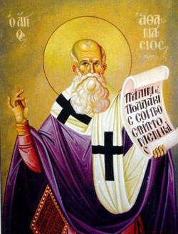 St. Athanasius: Saint of the Day for Saturday, May 02, 2015