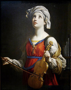 Image of St. Cecilia