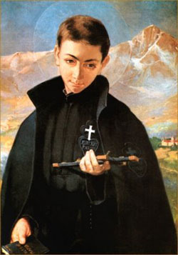 Image of St. Gabriel Francis of our Lady of Sorrows