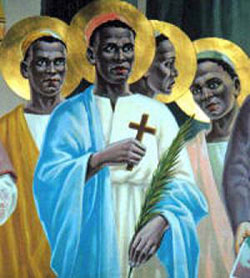 Image of St. Charles Lwanga and Companions