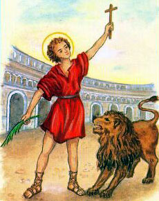 Image of St. Germanicus of Smyrna