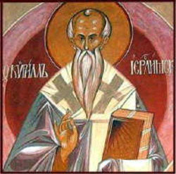 Image of St. Cyril of Jerusalem