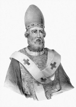 Pope Saint Damasus I: Saint of the Day for Tuesday, December 11, 2018