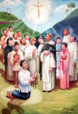 san lorenzo catholic singles Saint lorenzo ruiz (filipino: san lorenzo ruiz ng maynila, spanish: san lorenzo ruiz de manila latin: laurentius ruiz manilensis  ca 1600 – 29 september 1637) is a filipino saint venerated.