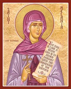 St Melanie Saints Amp Angels Catholic Online
