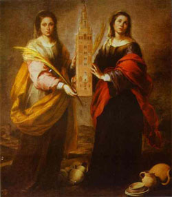 Image of St. Justa and Rufina