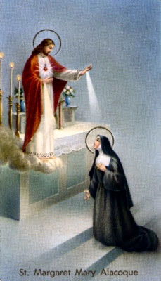 Image of St. Margaret Mary Alacoque
