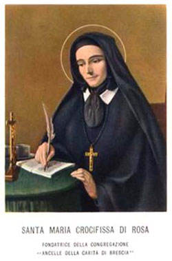 St. Mary Di Rosa: Saint of the Day for Saturday, December 15, 2018