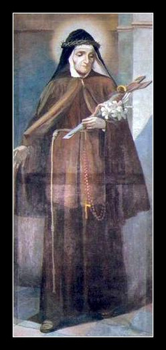 Image of St. Mary Frances of the Five Wounds of Jesus