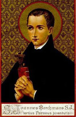 St. John Berchmans: Saint of the Day for Thursday, November 26, 2015