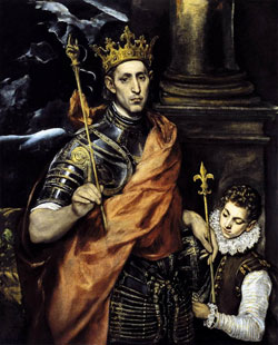 Image of St. Louis King of France