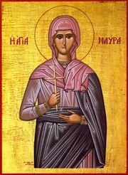 Image of St. Maura