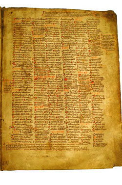 Image of Martyrology of Tallaght