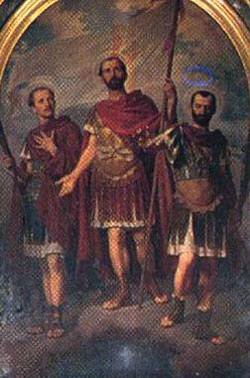 Image of St. Octavius, Solutor, and Adventor