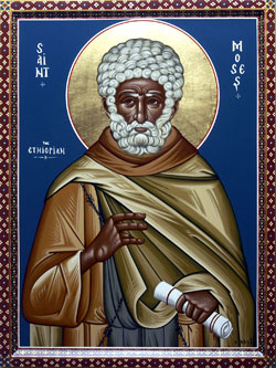 St. Moses: Saint of the Day for Sunday, February 07, 2016