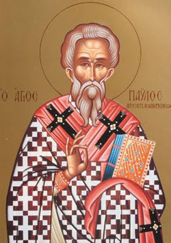 Image of St. Paul of Constantinople