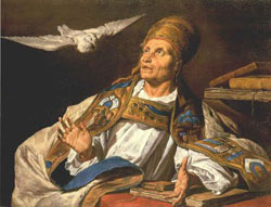 Image of Pope Saint Gregory III