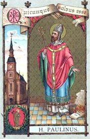 Image of St. Paulinus of Trier