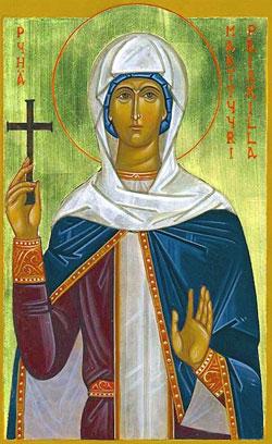 St Priscilla Saints Amp Angels Catholic Online