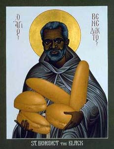 Image of St. Benedict the Black